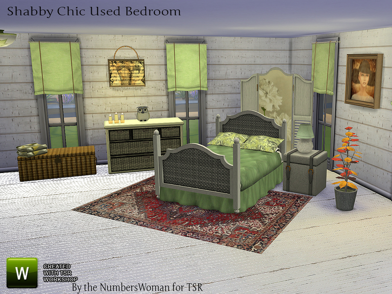 Shabby Bargain Shabby Chic Bedroom by TheNumbersWoman