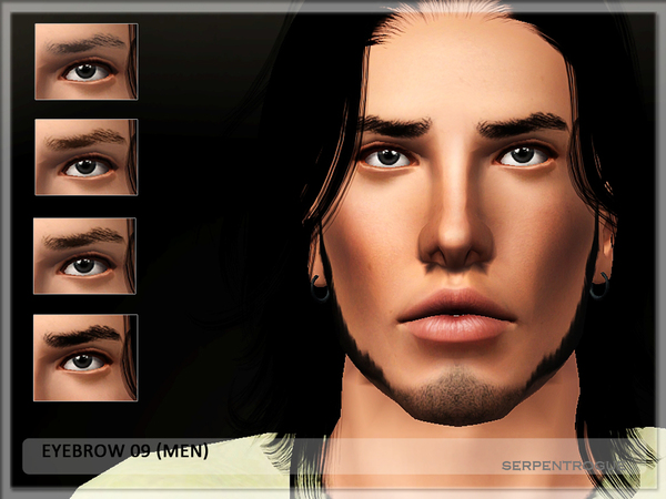 Eyebrow 09 (men) by Serpentrogue