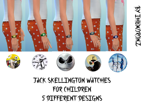 Jack And Sally Watches for children by ih8m0r0nz