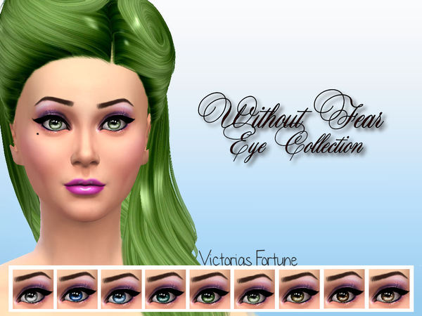 Victorias Fortune Without Fear Eye Collection by fortunecookie1