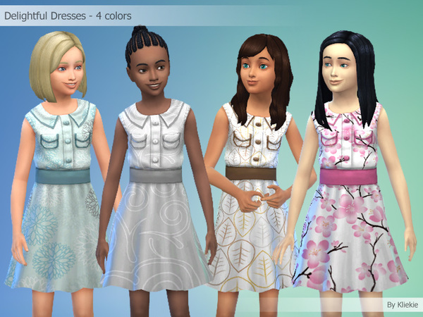 Delightful Dresses - 4 colors by kliekie