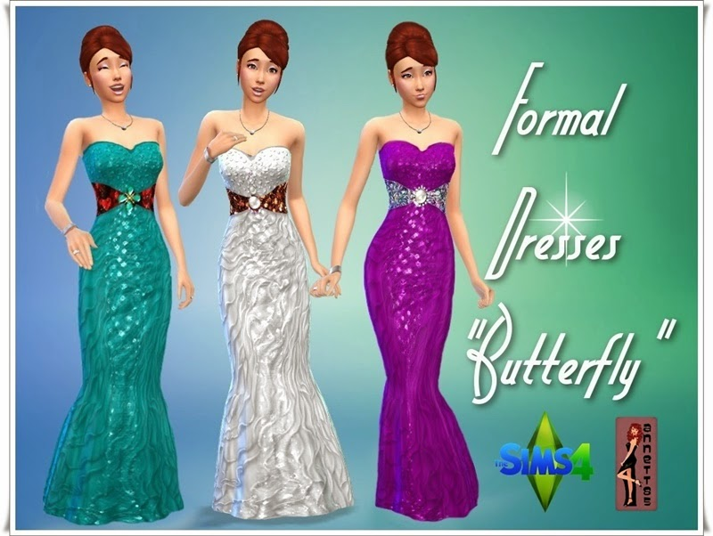 "Formal Dresses ""Butterfly"" by Annett85"