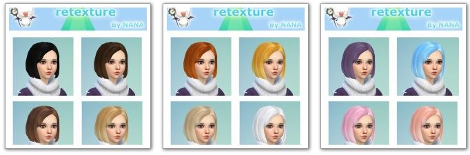 Innocent hair retexture by NANA