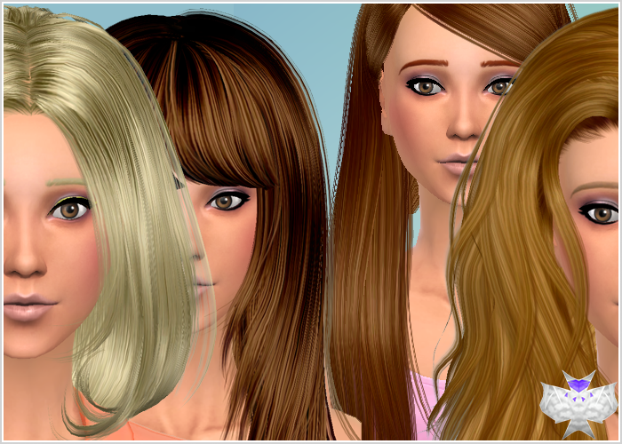 Conversion Hairs 3T4 Set 4 at David Sims