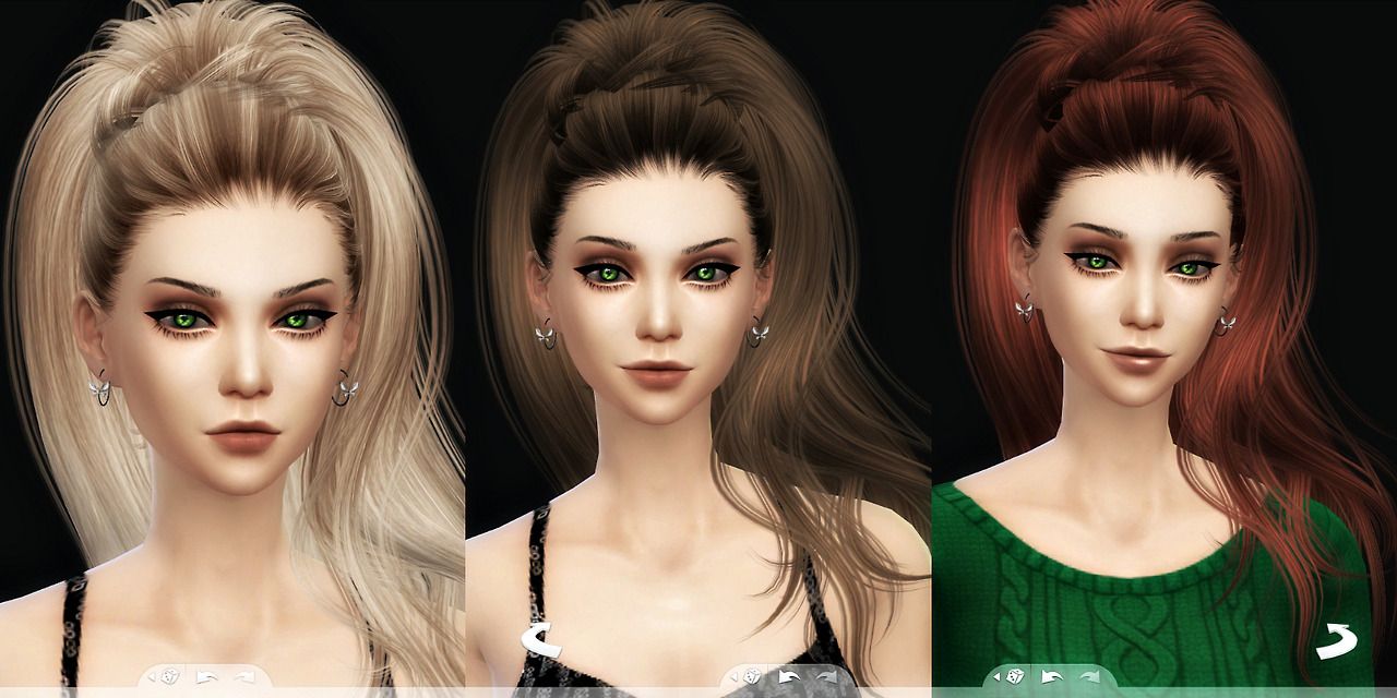 Newseas Aphrodite hair 3T4 Conversion at Kalilies Sims