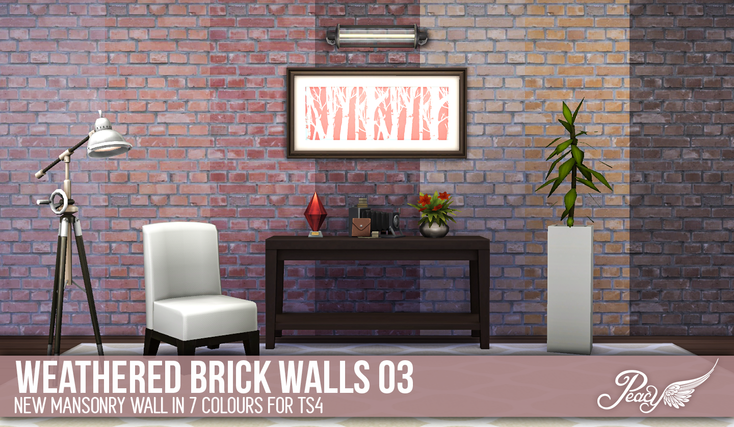 Weathered Brick Walls by Peacemaker ic