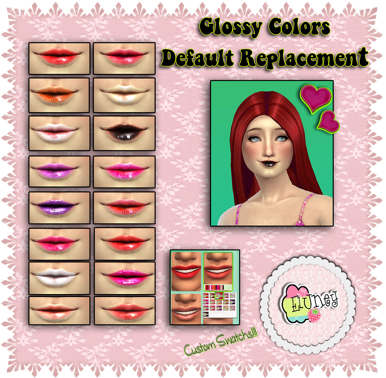 Default Replacement Lips by EluneyDesign