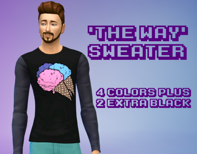The Way sweater by GothFamilySwag