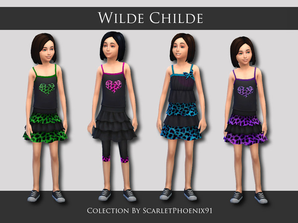 Wilde Childe Collection by scarletphoenix91