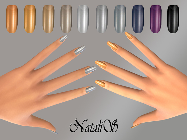 NataliS_Metallic nails collections FT-FE