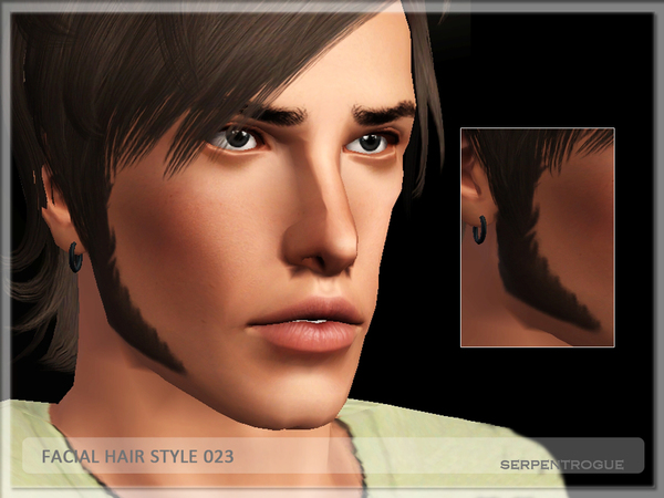Facial Hair Style 023 by Serpentrogue