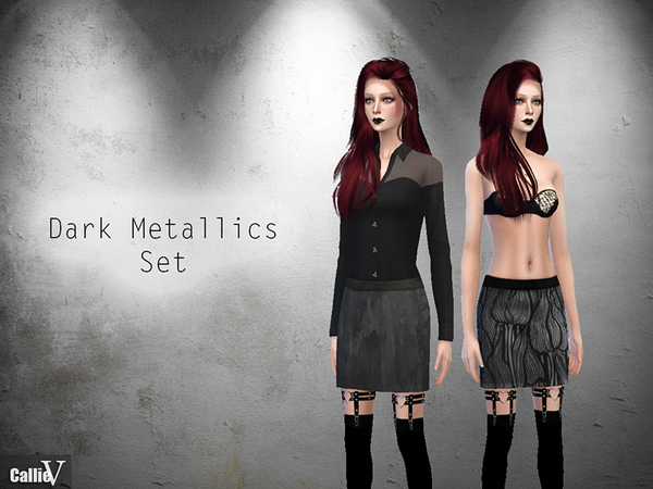 Dark Metallics Set by Callie V