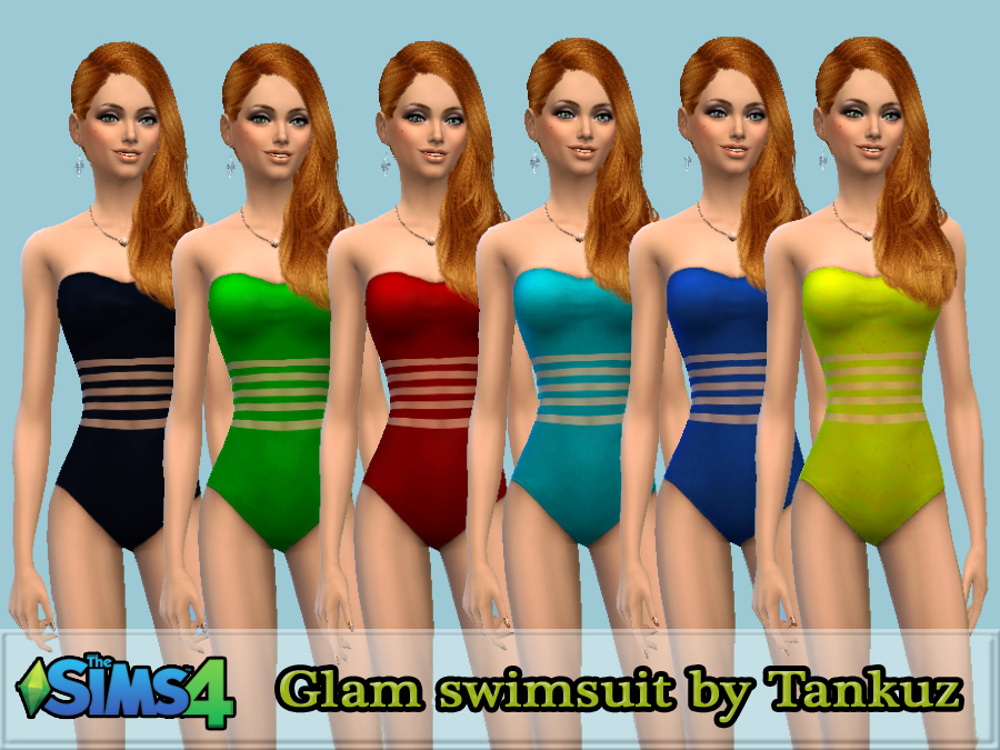 Glam swimsuit by Tankuz