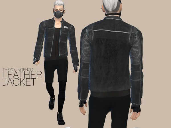 LEATHER JACKET by theyoungenzo