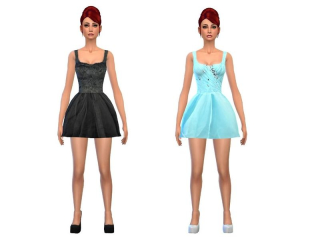 Sweet party dress set by simsoertchen