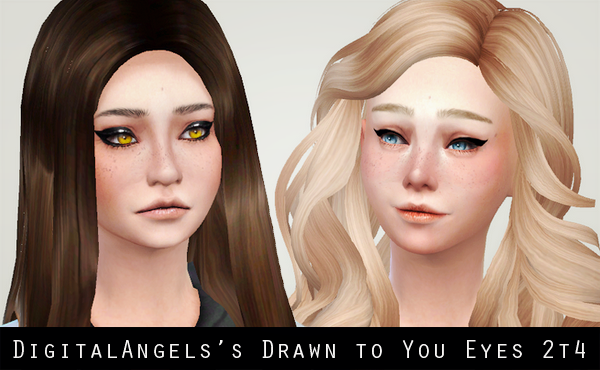 Digital Angelss Drawn to You Eyes Conversion by Liahxsimblr