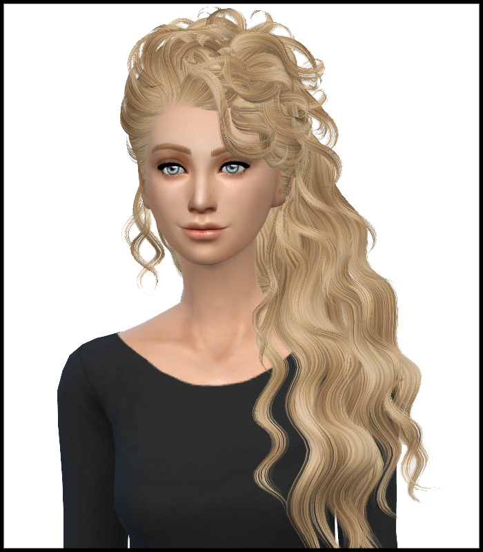 David Sims Disco Hair Converted Retexture at Simista