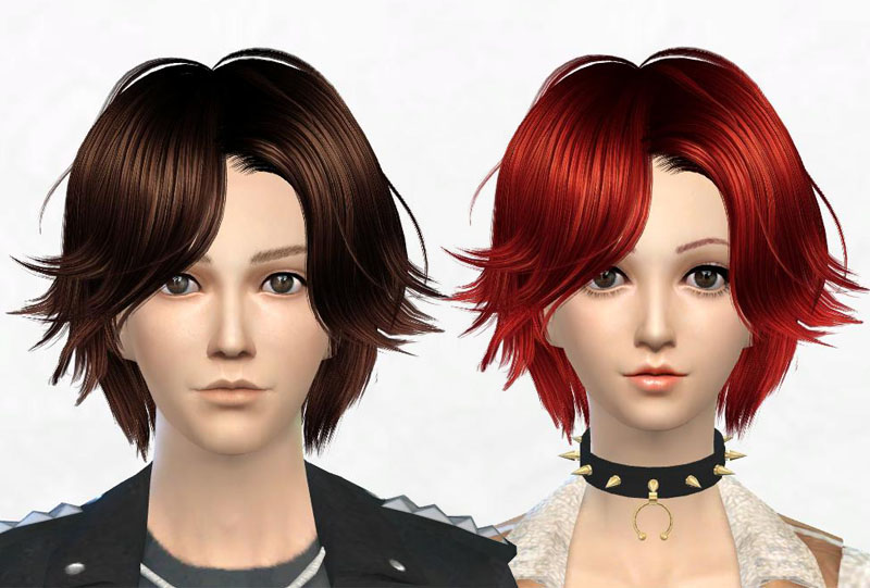 Newsea J062 TheTruth hair retexture at Sakura Phan