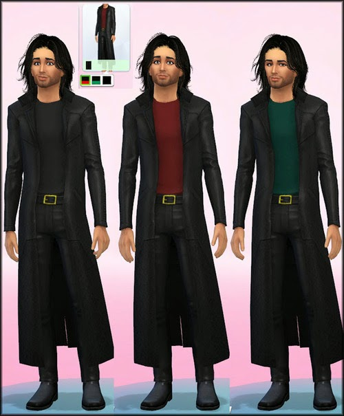 Male Oracle Coat Retexture by JulieJ