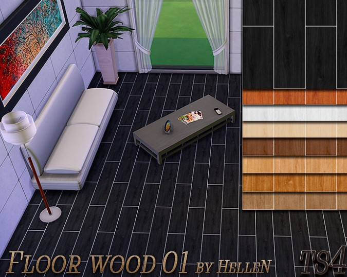 Floor wood by HelleN