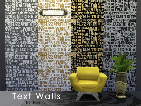 Text Walls by Rirann