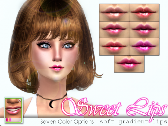 Sweet Lips by SenpaiSimmer