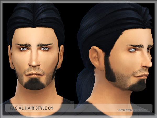 Facial hair style 04 by Serpentrogue