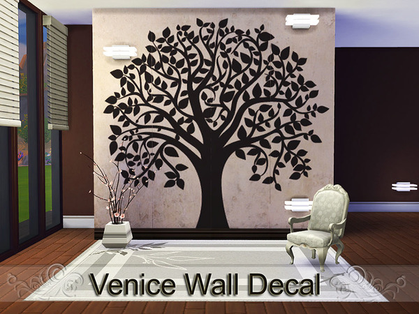 Venice Wall Decal by Pinkzombiecupcakes