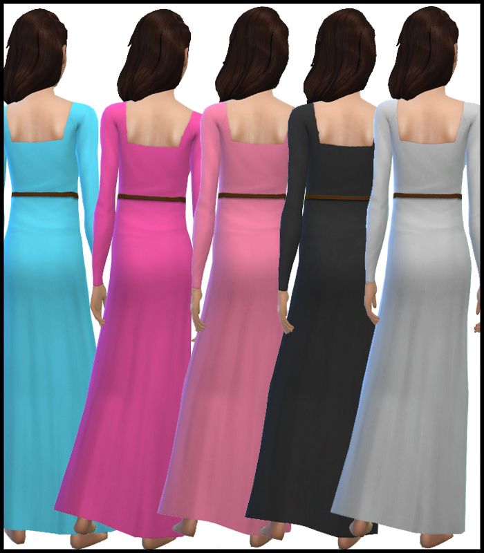 Long Sleeve Maxi Dress Collection for Teen - Elder by Simista