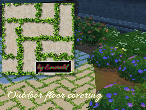 Outdoor floor covering by emerald