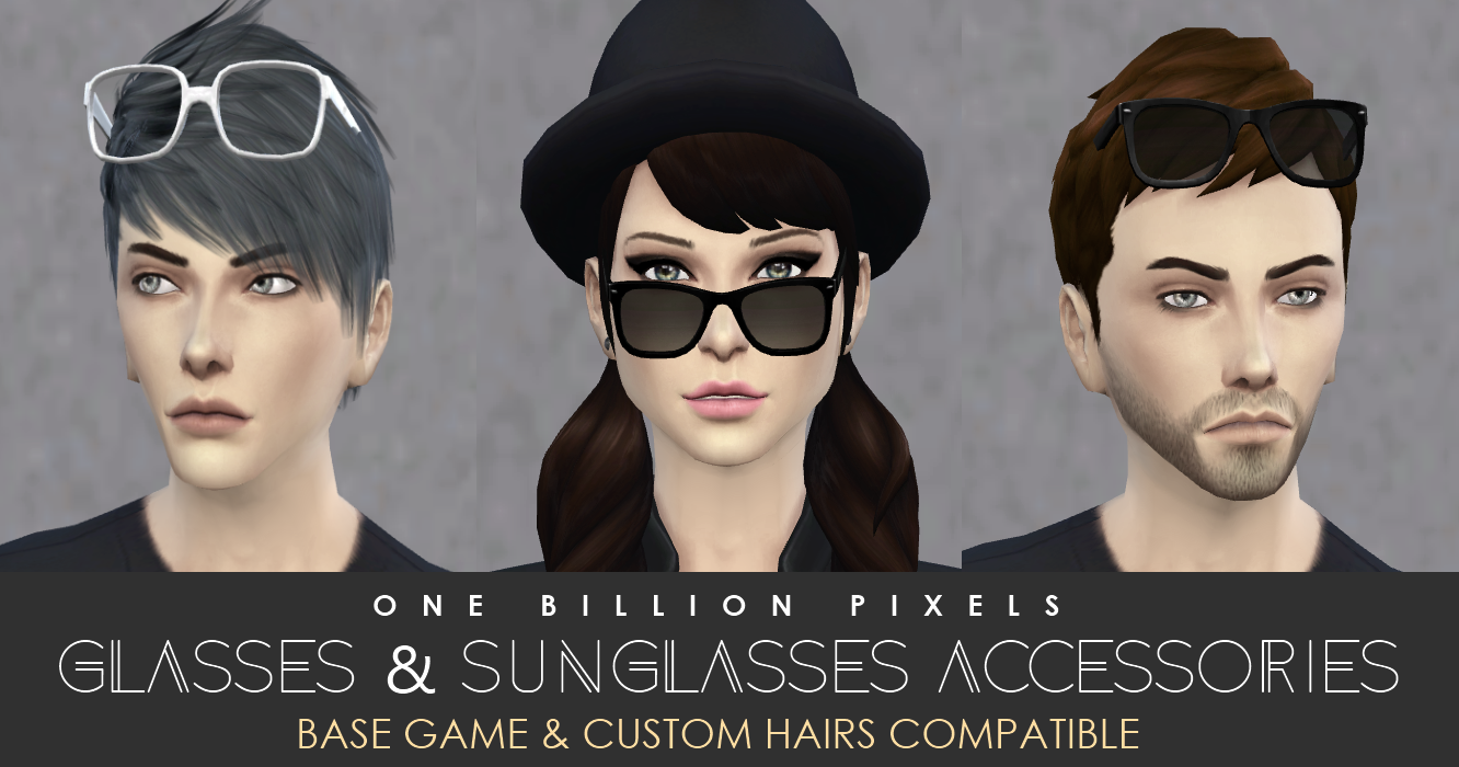 Glasses & Sunglasses at One Billion Pixels