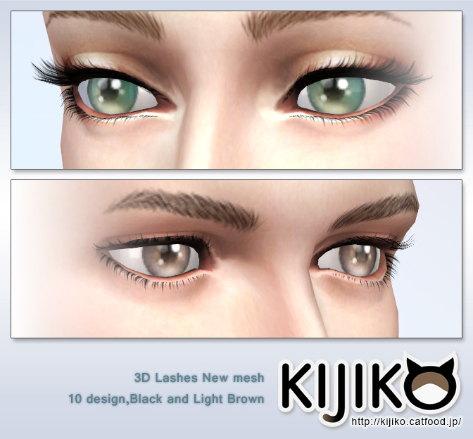 3D lashes curly edition at Kijiko