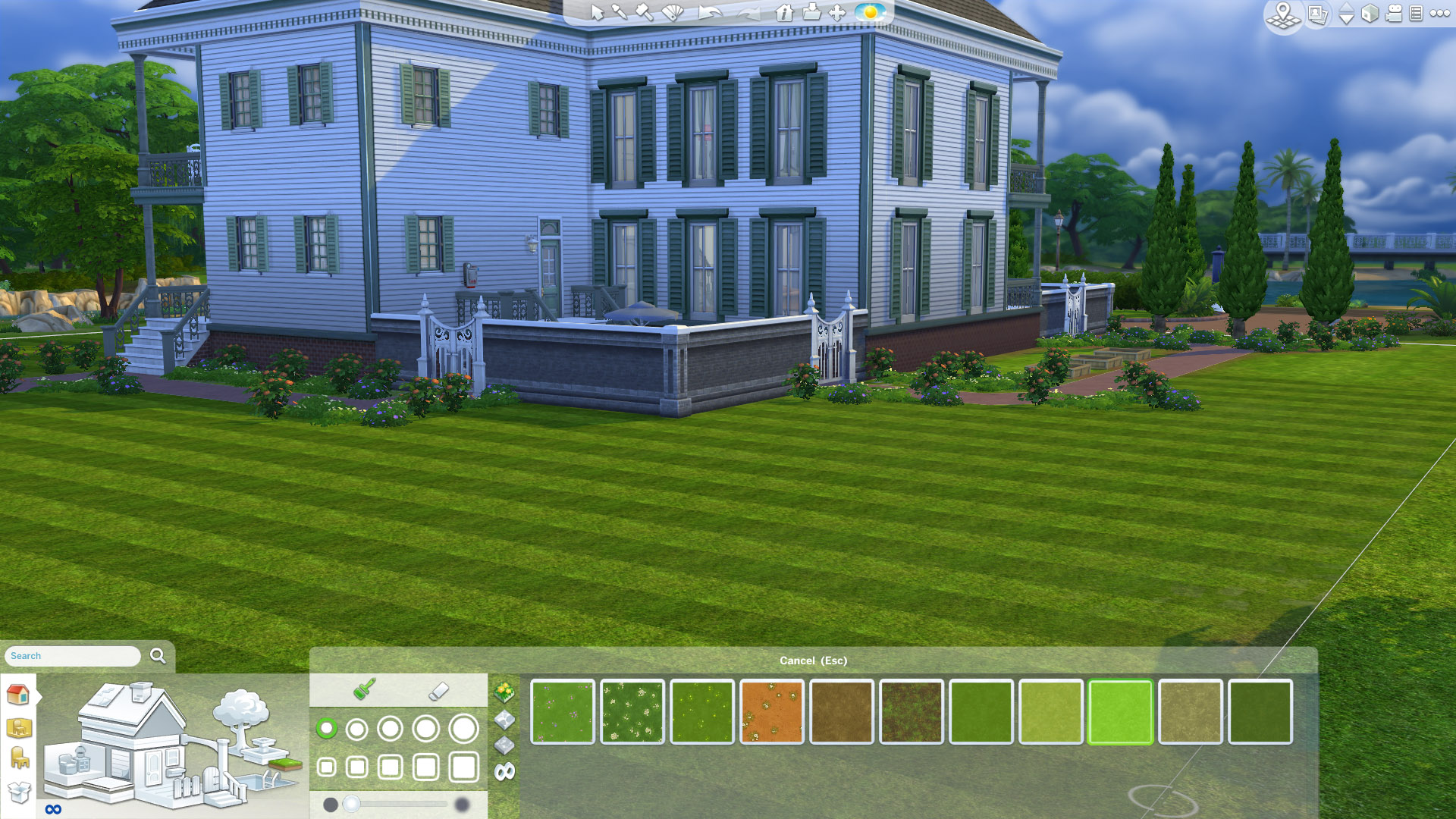 Default Grass Replacement floor paint by kiwisims_4