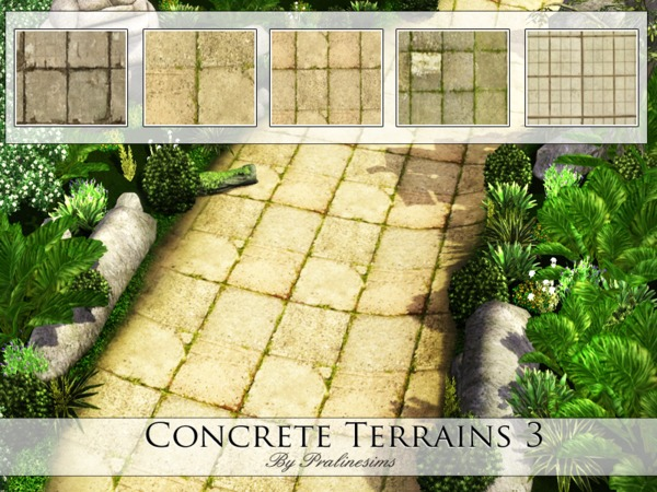 Concrete Terrains 3 by Pralinesims