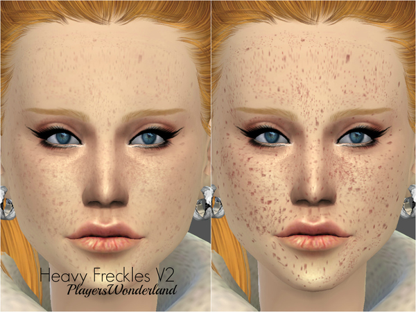 Heavy Freckles Set by PlayersWonderland