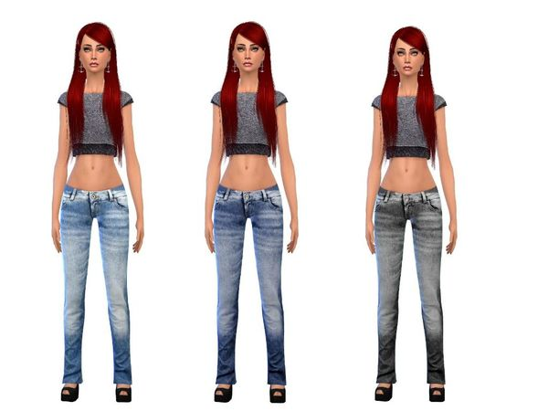 Jeans set female by simsoertchen