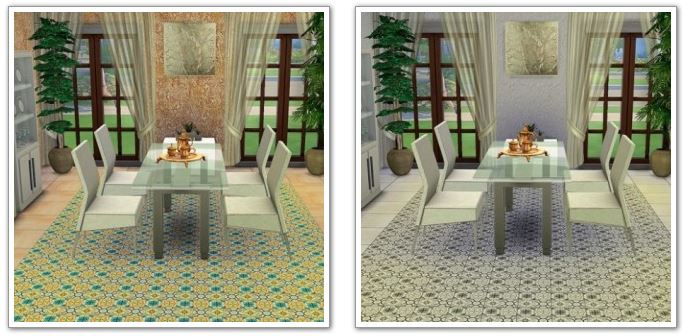 Floor tile Heritage by HelleN