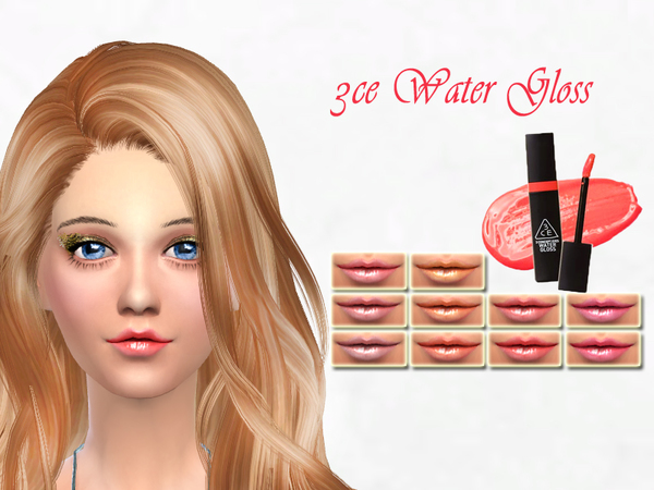 3CE Water Gloss by SakuraPhan