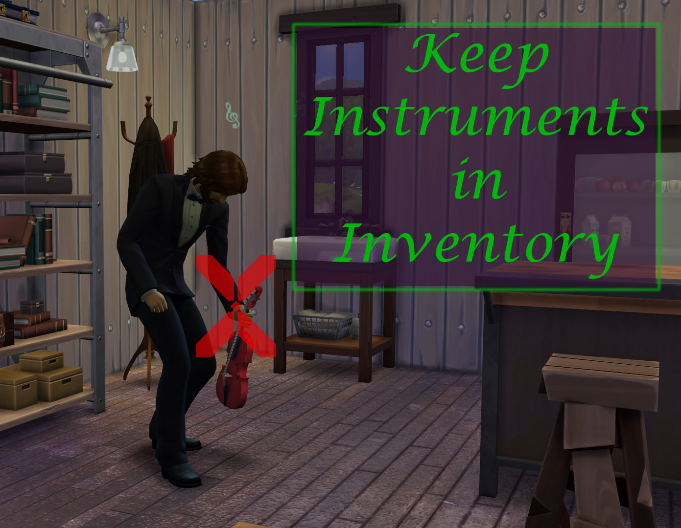 Keep Instruments in Inventory Mod by scumbumbo