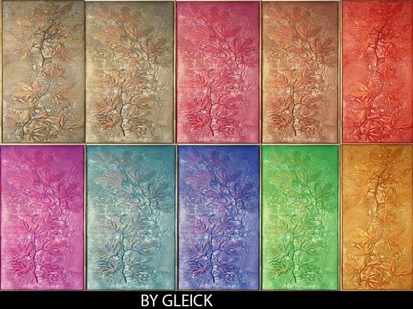 Flower panel by gleick by gleick