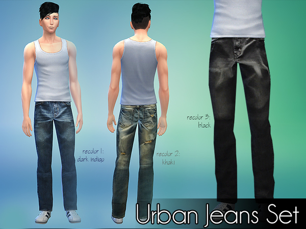 Urban Jeans Set by NIREsim