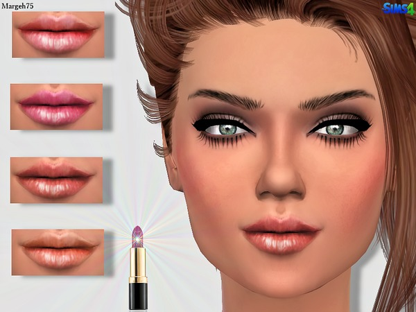Sims4 Lipgloss 1 by Margeh-75
