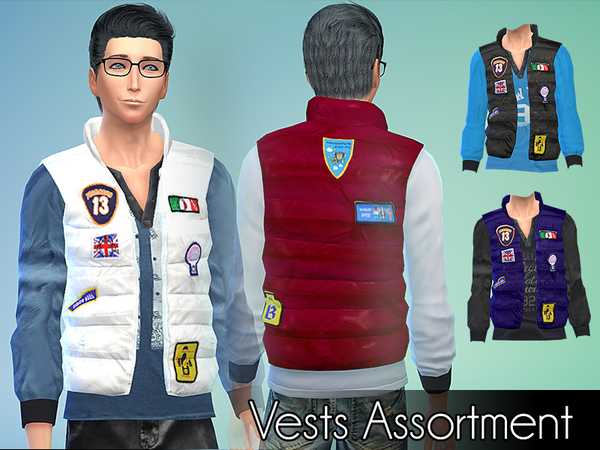 Vests Assortment by NIREsim