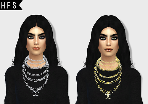 Necklace conversion 3T4 at HAUT FASHION SIMS