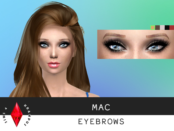 MAC Eyebrows by SIms4Krampus