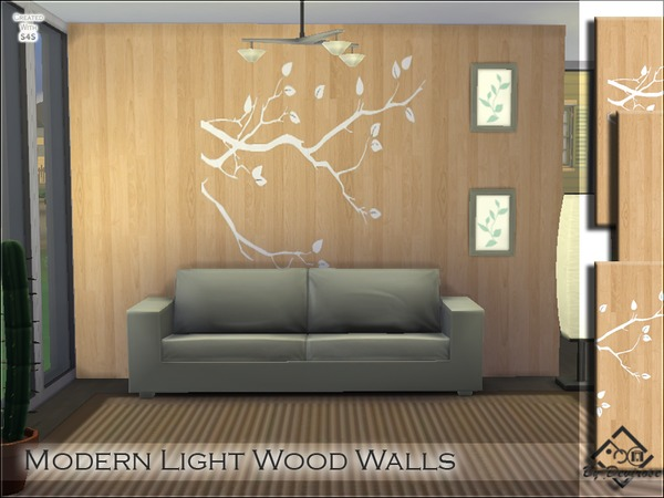 Modern Light Wood Walls by Devirose