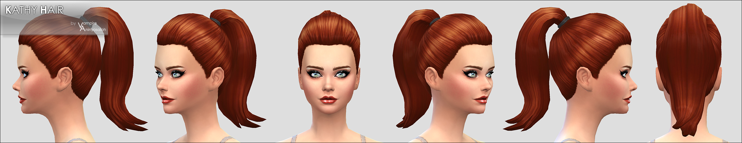 Kathy Hair -NEW MESH- by Vampire_aninyosaloh