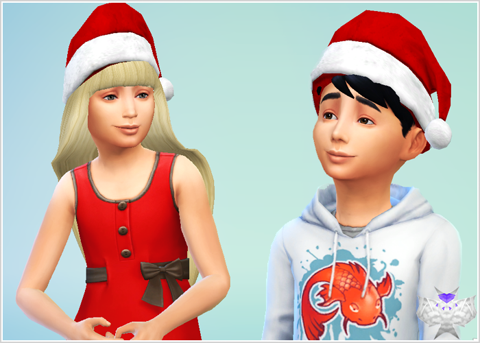 Santa Hat for kids by David