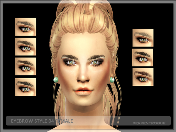 eyebrow style 04 female by Serpentrogue
