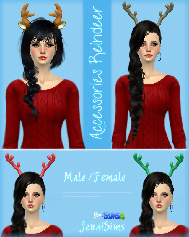 Reindeer Ears & Horns by Jenni